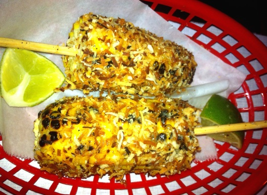 Jerk Grilled Corn