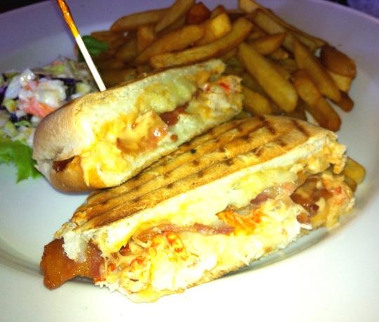 lobster panini