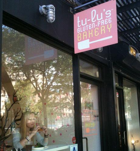 entrance to tu-lu's bakery