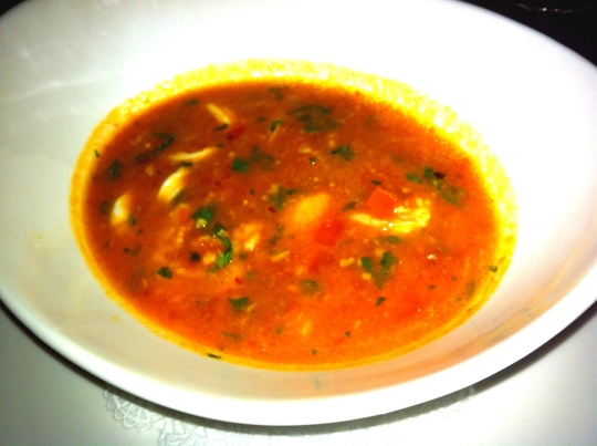 spicy shellfish soup