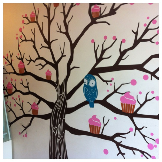 bakery wall